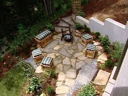 loose flagstone patio. ▷ Loose Flagstone Patio