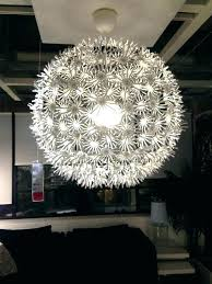 chandeliers ikea stockholm chandelier exotic pendant lamp white silver chrome modern 3 armed sputnik installation