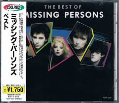 Missing Persons Posters Adorable Missing Persons The Best Of Missing Persons CD At Discogs