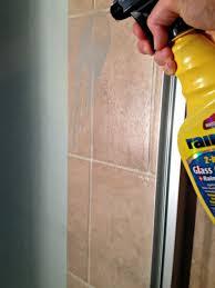 rain x to clean glass