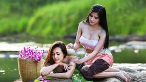 Sexy girls in nature
