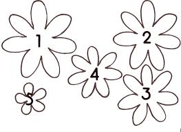 3d Paper Flower Calendar Images Of Paper Flower Template Printable Spacehero