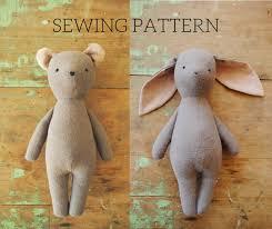 Animal Sewing Patterns Custom Stuffed Toy Sewing Patterns By Willowynn