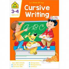 Online Cursive Chart Cursive Writing 3 4 Workbook Shows Kids Proper Cursive