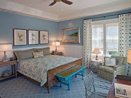 CoastalInspired Bedrooms HGTV Interesting Interior Design Of Bedrooms Set Painting