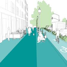 Designing A Town D D Sidewalks National Association Of City Transportation