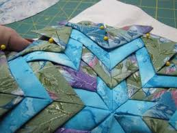 13 best Folded star images on Pinterest   Crafts, Quilted ... & 13 best Folded star images on Pinterest   Crafts, Quilted ornaments and  Quilting projects Adamdwight.com