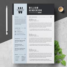 Clean Professional Resume 013 01 Clean Professional Creative And Modern Resume Cv