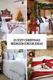 Pics Of Bedroom Decor 21 Cozy Christmas Bedroom Daccor Ideas Shelterness