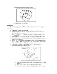 Venn Diagram Math Problems Pdf Math Grade Learners Modul On Venn Diagram Examples Pdf Maggi