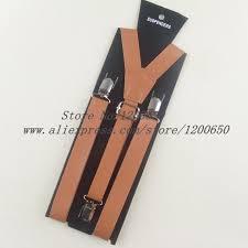2018 <b>fashion men</b> leather suspenders belt <b>PU</b> Leather Clip on <b>Men</b> ...