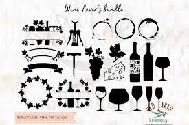 Freesvg.org offers free vector images in svg format with creative commons 0 license (public domain). 1 Wine Split Frame Designs Graphics
