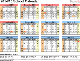 School Calendar 2015 2019 Template Remarkable Year Calendar In School Printable Blank Calendar Template