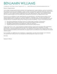 Sample Cover Letter For Administrative Assistant Administrative Assistant Cover Letter Template Cover