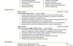 Stunning Resume For Preschool Teacher Tomyumtumweb Com