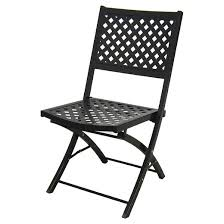 Woven Metal Folding Patio Chair Threshold™ Tar