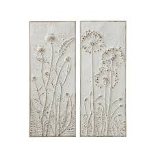 assorted distressed white embossed