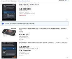 Steam Deck: Erste Abzocker verkaufen reservierte Geräte; Reservierungsstart  mit Problemen