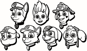 Free Paw Patrol Coloring Pages New Photos Paw Patrol Free Coloring