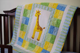 Baby Quilt Pattern Interesting Giraffe Quilt Pattern AhhhQuilting