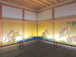 「重要文化財・名古屋城本丸御殿障壁画 竹林豹虎図」の画像検索結果