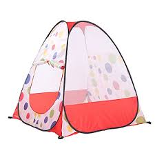 uxcell play tent pop up outdoor indoor play tents folding playhouse ball tents child adventure sets gamehouse toy hut with storage bag for toddles child