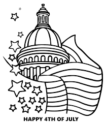 American Flag Coloring Page For Preschool At Getdrawingscom Free