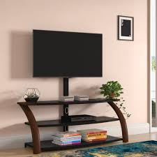 Ebern Designs Nyle Glass 60 Tv Stand Ebern Designs Halethorpe Solid Wood Tv Stand For Tvs Up To