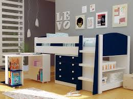 White Mayfair New Kids Mid Sleeper Cabin Bed With Desk & Storage | FREE  PILLOWS | Childrens cabin beds, Desk storage and Mid sleeper cabin bed