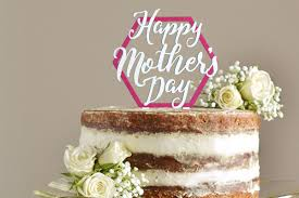 Cake Topper Happy Mothers Day
