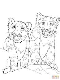 Animal Jam Snow Leopard Coloring Pages Inspirational Inspirational