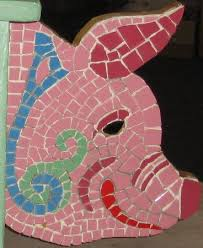 mosaic on a stick. Beautiful Stick Dianeu0027s Pig Returns With Mosaic On A Stick