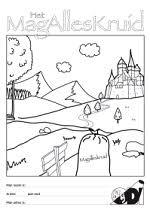Kleurplaat Van Magalleskruid Toneelvereniging Odi