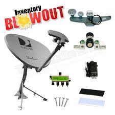 directv hd slimline and dual lnb satellite dish antennas directv slimline swm dish w sl5s lnb j mount and support braces