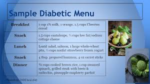 Diabetes Sample Menus Case Study 15 Type 1 Diabetes Mellitus Ppt Video Online Download