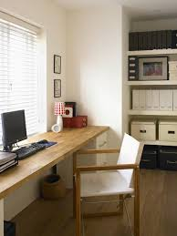 small office decorating. Suxtome Made Wooden Table For Small Home Office Decorating I