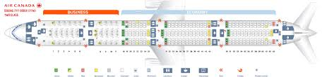Seat Map Boeing 777 300 Air Canada Best Seats In Plane