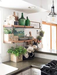 Open Shelf Design For Kitchen How To Decorate Kitchen Shelves Grace In My Space