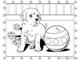 Small Picture Puppy Coloring Pages Bebo Pandco