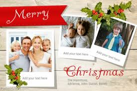 Christmas Card Collage Templates Customize 1 590 Christmas Cards Design Templates Postermywall