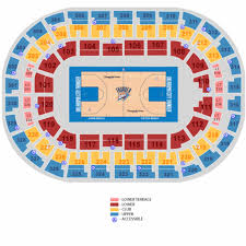 Chesapeake Arena Seating Chart With Rows Seating Charts Insidearenas Com