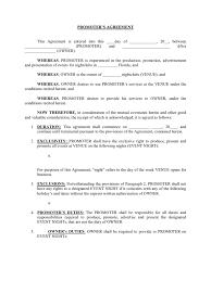 promoter agreement lawsuit