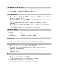 Beautiful Co Curricular Activities In Resume Sample Gallery