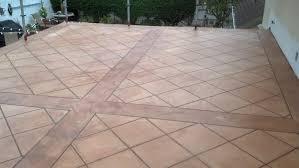 contemporary patio laying tile over concrete patio ideas in tiles