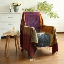 cotton woven sofa bed throw blanket bedspread settee cover rug boho red electric blanket twin xl custom throws blankets from supreme1982 25 62 dhgate com