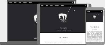 Website Design Templates Simple Responsive Web Design Templates