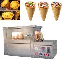 Automatic Pizza Maker Vending Machine Classy Automatic Pizza Cone Making MachineAutomatic Pizza Cone Making