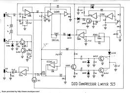 guitar effects schematics projects dod compressor limiter 525