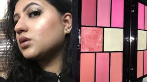 swiss beauty 8 color blush n highlight review demo 50 rs for 1 color