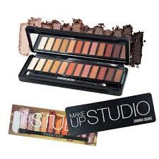 sivanna colors makeup studio 01 eyeshadow palette 12 shades